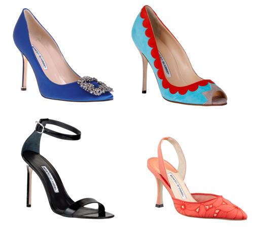 manolo blahnik shoes fall 2013